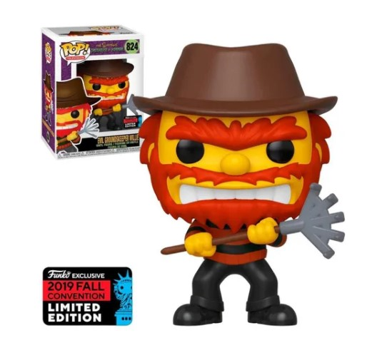 Funko POP -  Evil Willie - Simpsons #824
