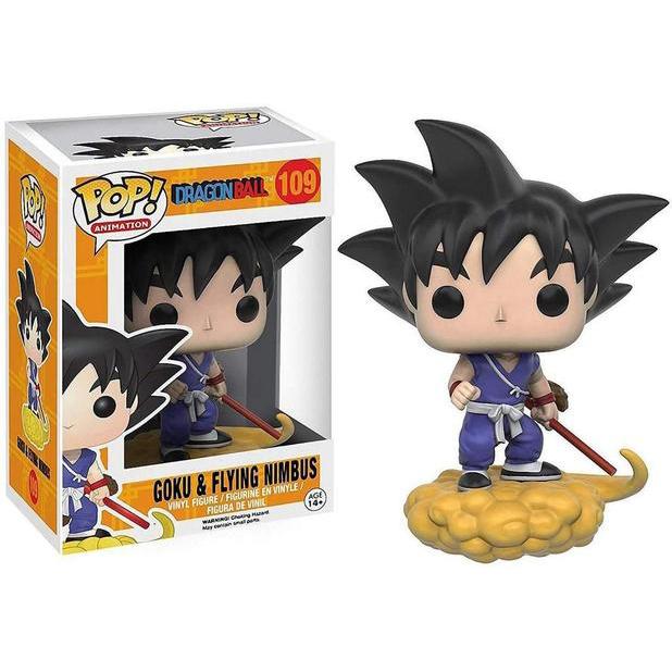 Funko POP -  Goku & Flying Nimbus - Dragon Ball #109