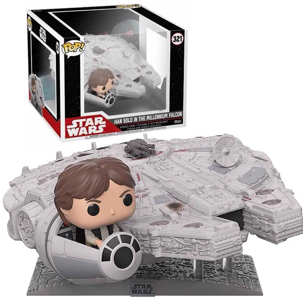 Funko POP -  Han Solo in the Millennium Falcon - Star Wars - Deluxe - #321