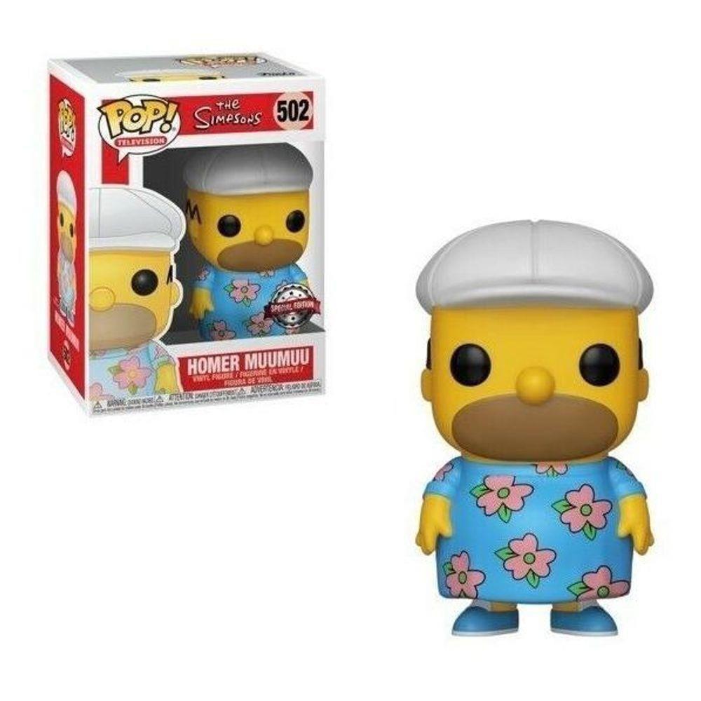 Funko POP -  Homer Muu Muu - Homer Simpson #502