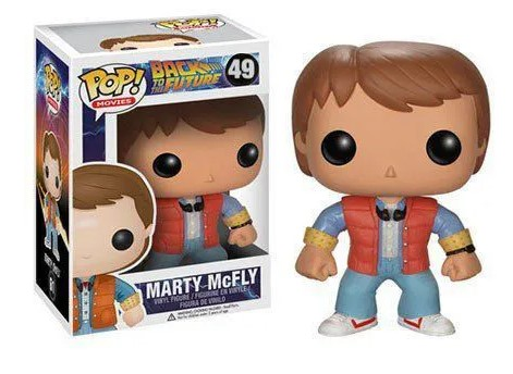 Funko POP -  Marty McFly - Back to the Future - #49