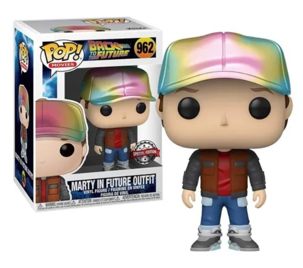 Funko POP -  Marty McFly - In Future outfit - #962