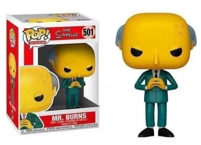 Funko POP - Mr. Burns - Simpsons #501