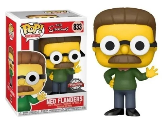 Funko POP -  Ned Flanders - Simpsons #833