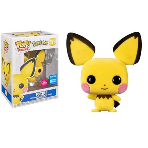Funko POP -  Pichu (Flocked) - Pokémon #579