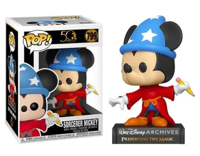 Funko POP - Sorcerer Mickey #799