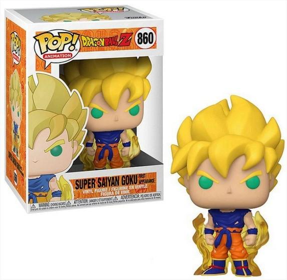 Funko POP -  Super Saiyan Goku - Dragon Ball #860