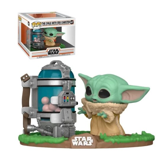 Funko POP -  The Child with egg canister - Baby Yoda #407