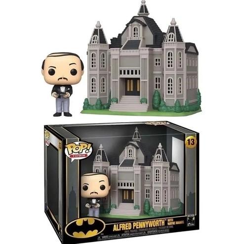 Funko POP Town -  Alfred Pennyworth With Wayne Manor - Batman 80 anos - #13