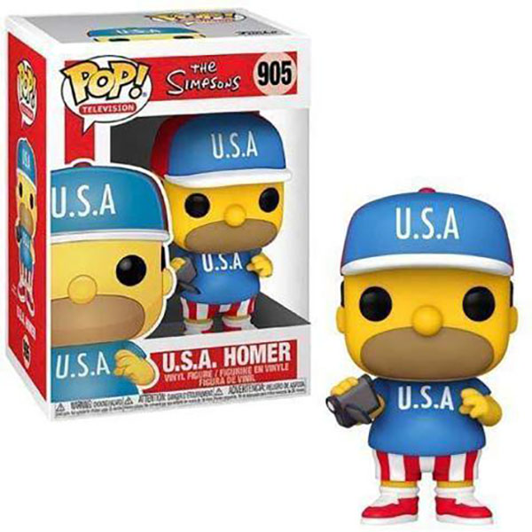 Funko POP -  U.S.A. Homer - Simpsons #905