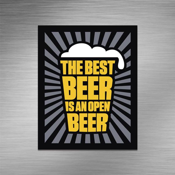 Imã de geladeira - Best Beer