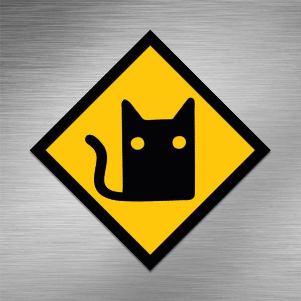 Imã de geladeira - Cat