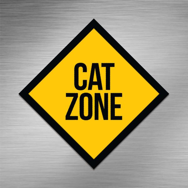 Imã de geladeira - Cat Zone