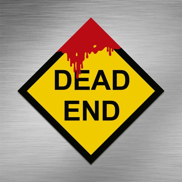 Imã de geladeira - Dead End