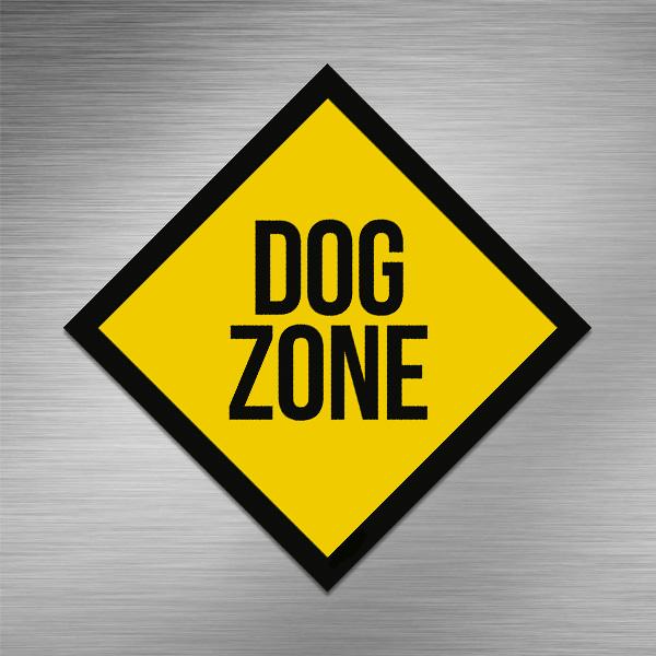 Imã de geladeira - Dog Zone