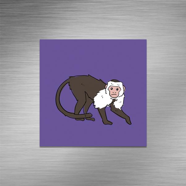 Imã de geladeira - Ícone Macaco