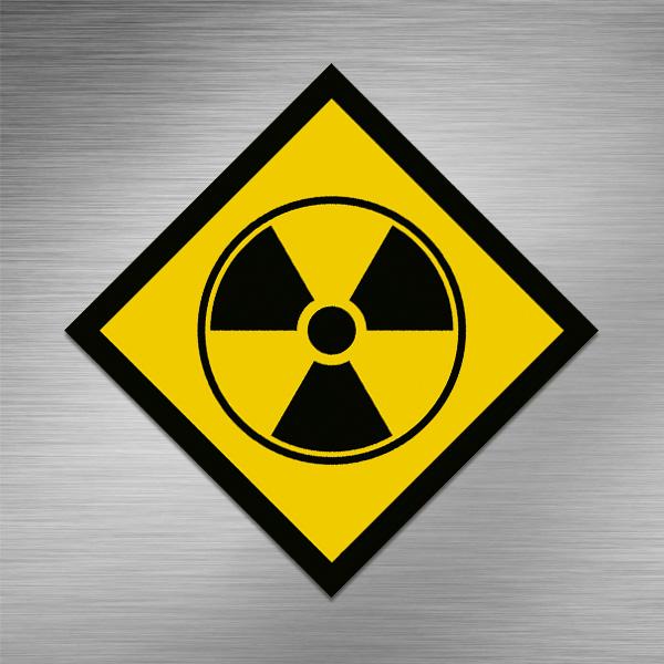 Imã de geladeira - Radioativo