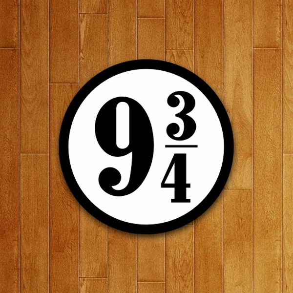 Placa Decorativa 9 3/4 v2
