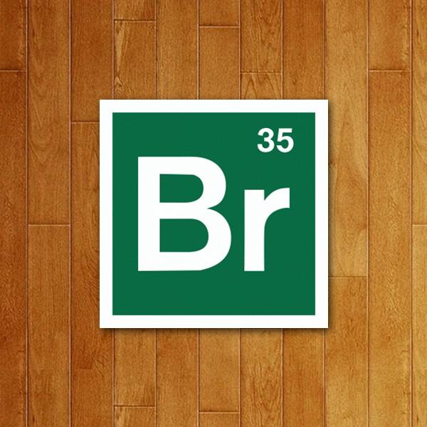 Placa Decorativa Bromo