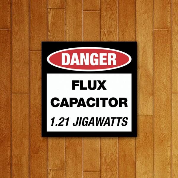Placa Decorativa Capacitor de fluxo