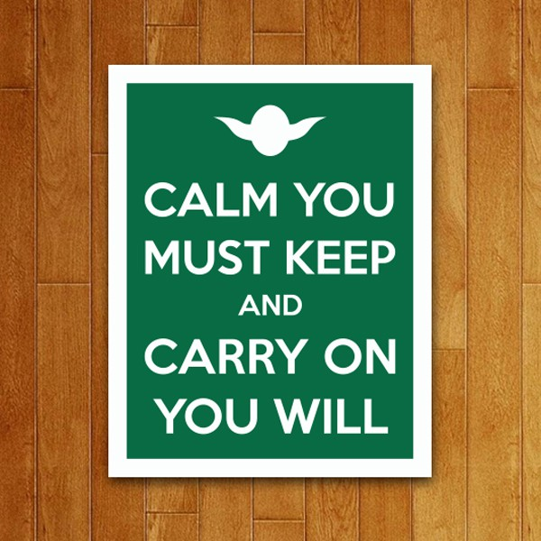 Placa Decorativa Carry on you will