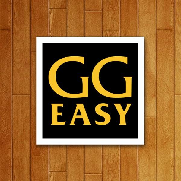 Placa Decorativa GG Easy