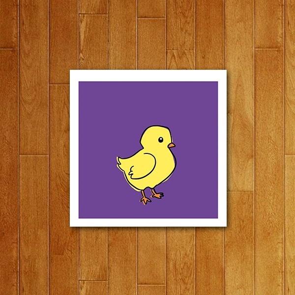 Placa decorativa Icone Pato de borracha