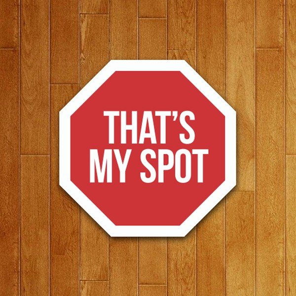 Placa Decorativa My Spot (v2)