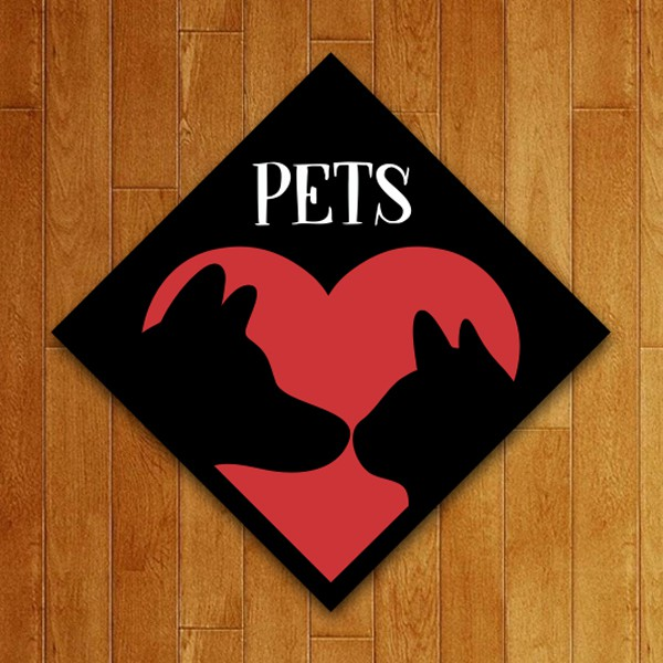 Placa Decorativa Pets