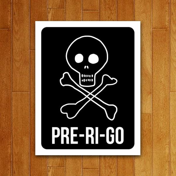 Placa Decorativa Pre-Ri-Go