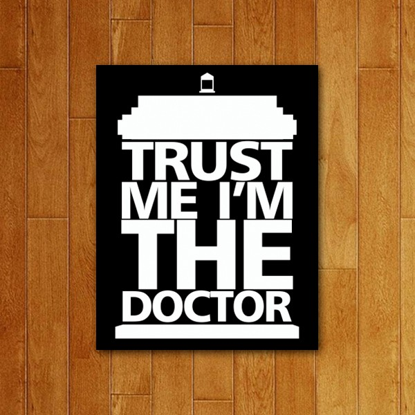 Placa Decorativa Trust Doc