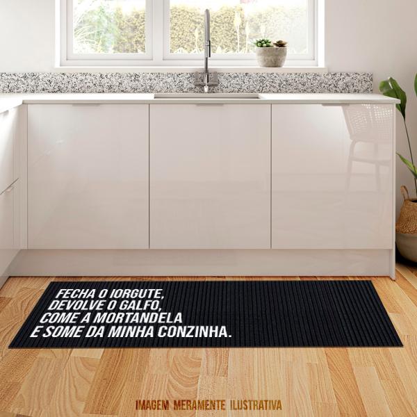 Tapete de cozinha - Fecha o iorgute