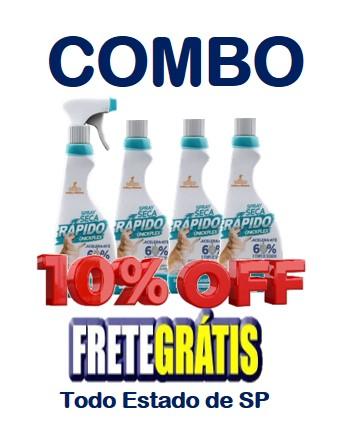 COMBO  Spray SECA RÁPIDO - 2 Litros