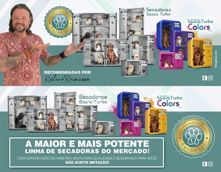 SECADORA SAARA TURBO BABY COLOR - ÔMEGA