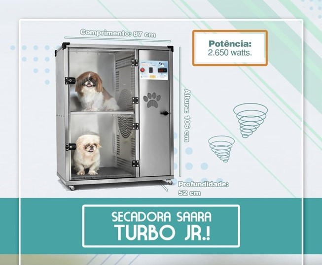 SECADORA SAARA TURBO JUNIOR - ÔMEGA