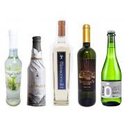 Kit hidroméis leves e elegantes - 5 garrafas