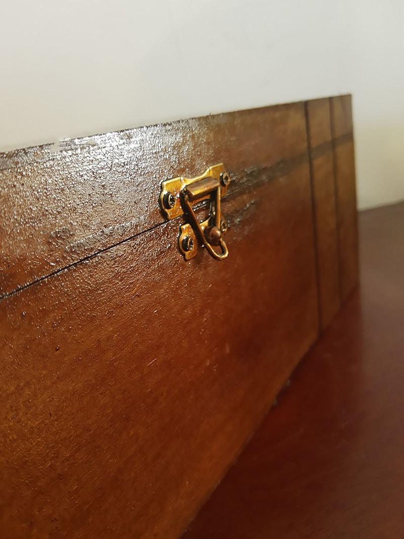 Caixa de Madeira + Hidromel + Taças