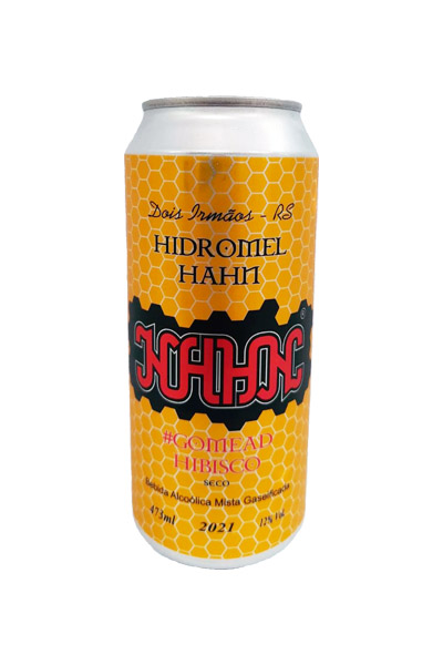 Hidromel Hahn Seco - Hibiscus - 473ml
