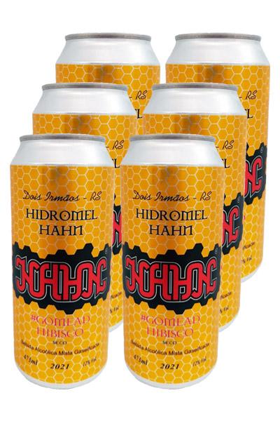 Hidromel Hahn Seco - Hibiscus - 473ml - Six Pack