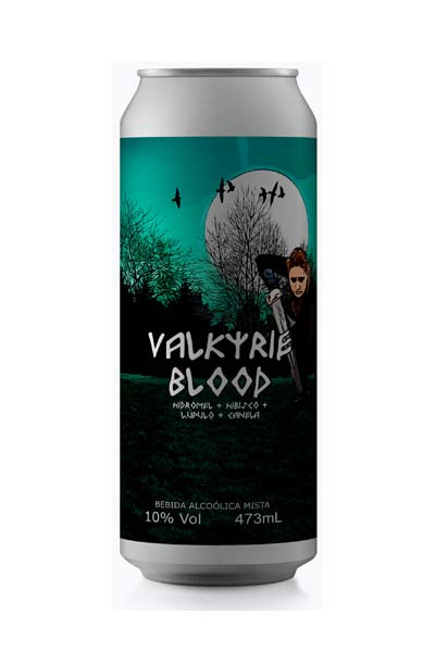Hidromel Valkyrie Blood - Daemon Brew - 473ml