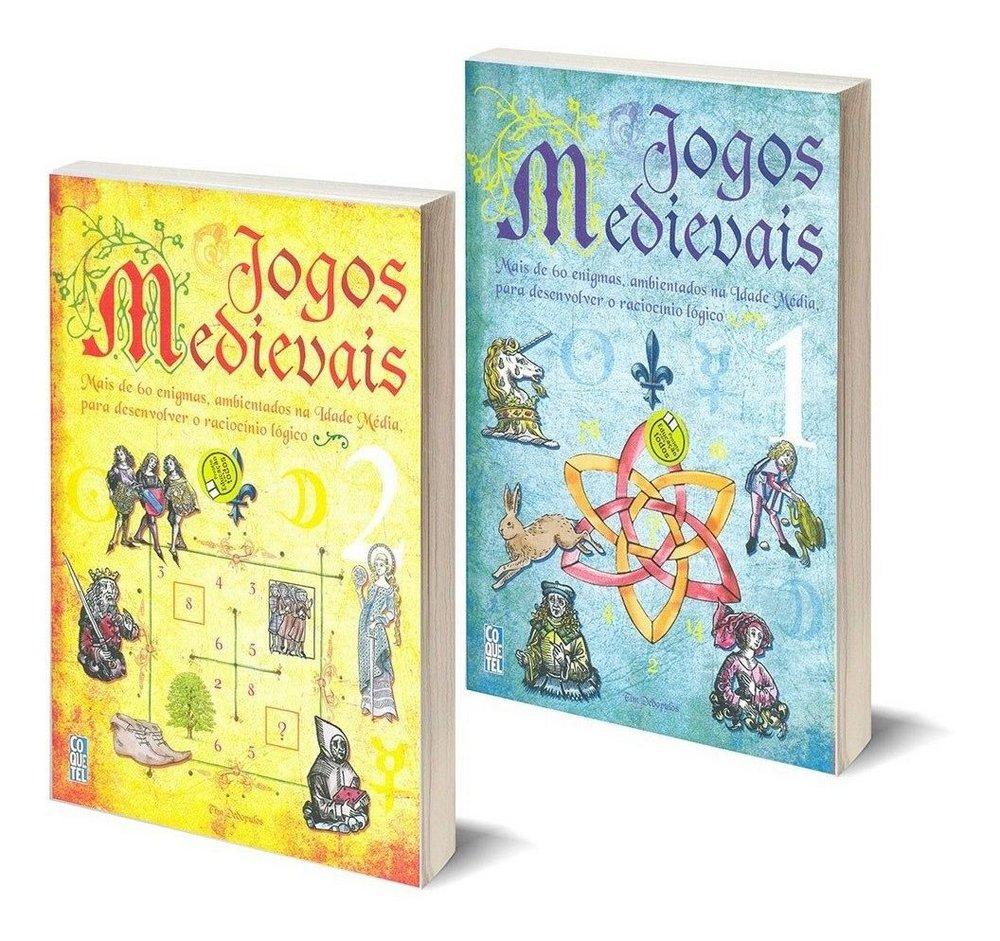 Jogos Medievais - Box com 2 livros e mais de 120 desafios