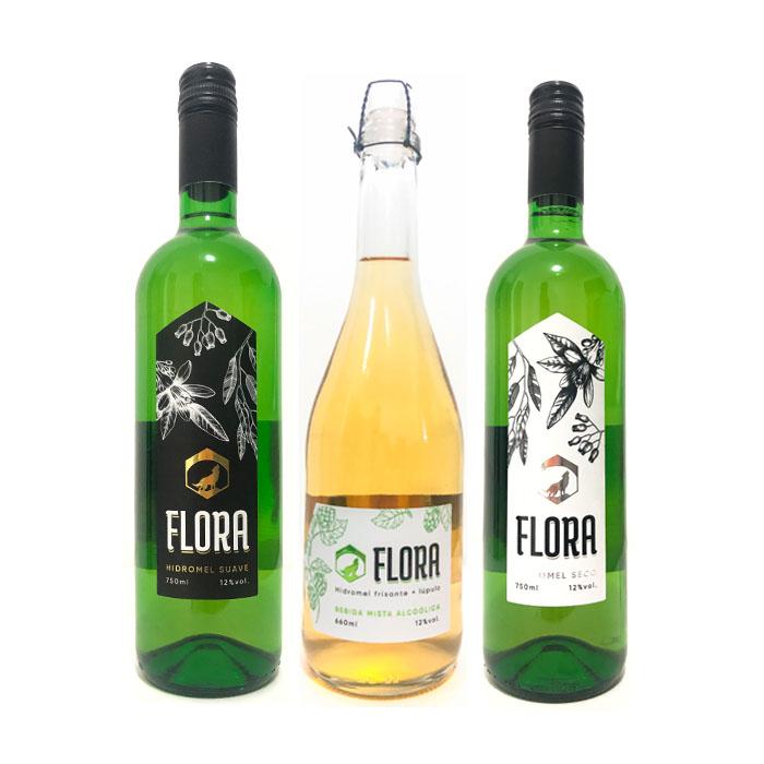 Kit Hidroméis Flora - Lobos HIdroméis