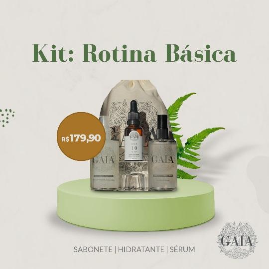Kit Promocional - Rotina básica
