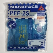 KIT 10 MASCARAS PFF-2S AZUL ROYAL C/ VALVULA AIRSAFETY CA.38954