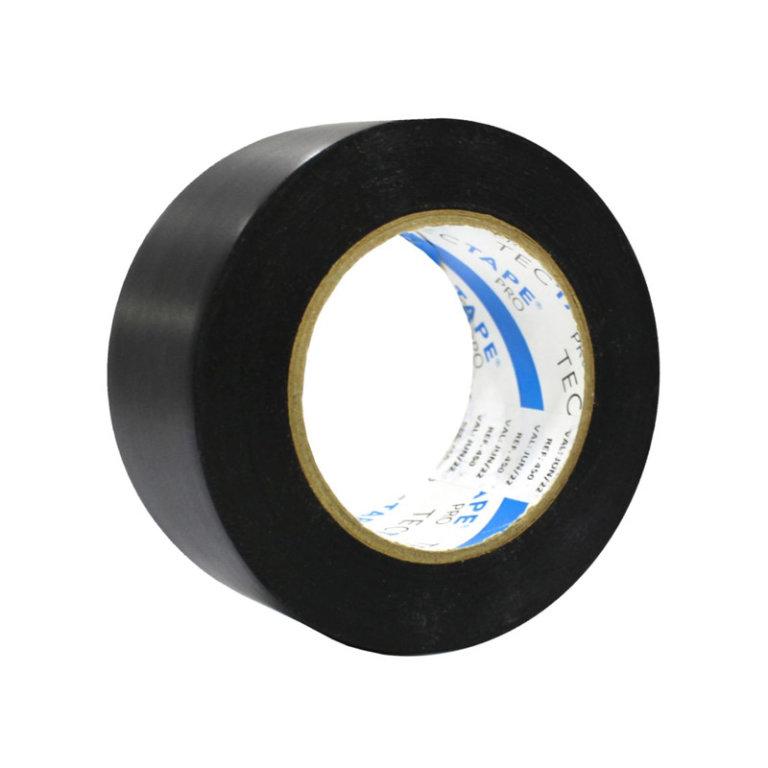 FITA ADESIVA PVC ANTICORROSIVA PRETA REF.450 - TECTAPE - 50mm x 30m
