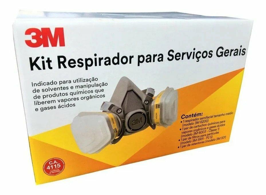 KIT RESP 3M 6200 SV MIN