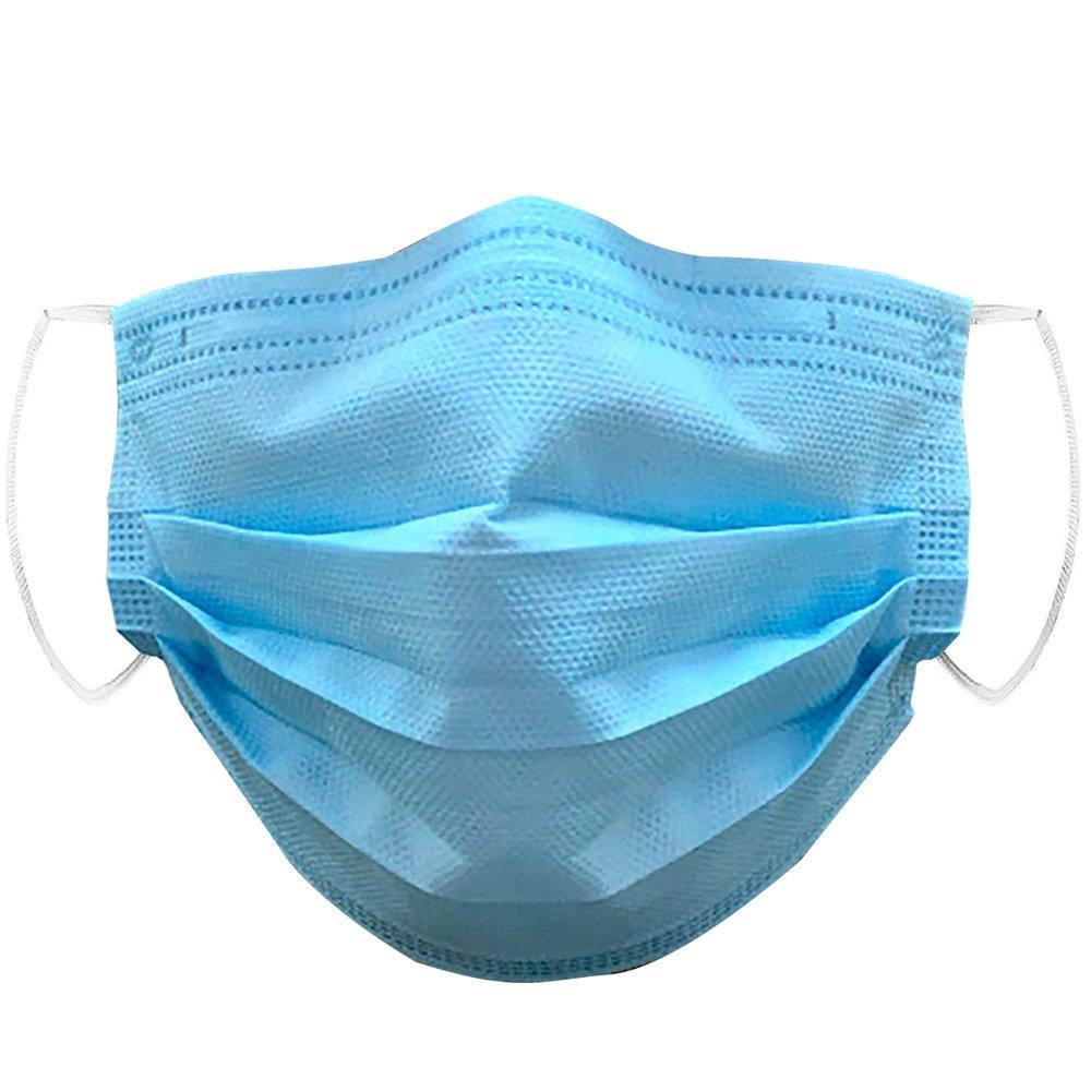 Mascara Tripla Azul Celeste c/ Elastico SSMSS EFB 95% (PCT 50 UNIDADES)