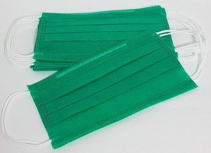 Mascara Tripla Verde c/ Elastico SSMSS EFB 95% (PCT 50 UNIDADES)