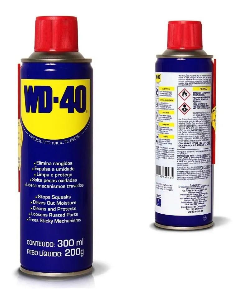 WD40 TRADICIONAL B AEROSSOL 300 ML/200G - WD-40