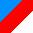 Cor: Xadrez - Azul/Vermelho/Branco
